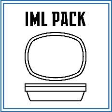 بسته بندی محصولات غذایی در ظروف IML می تواند باعث ایجاد زیبایی منحصربفردی گردد. ظروف IML در زمان تولید، لیبل خورده می شوند. این نوع ظروف دارای لبه هایی با عرض کم هستند که با توجه به همین موضوع بسته بندی آنها می بایست دارای تکنولوژی خاصی باشد.
